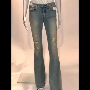 McGuire light wash flare jeans